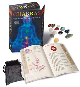 Chakras, Seven Doors of Energy (Book & Crystals) By Lo Scarabeo