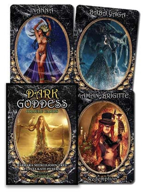 Dark Goddess Oracle Deck By Meiklejohn-Free & Peters