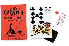 Gypsy Witch Fortune Telling Cards by Mlle Lenormand