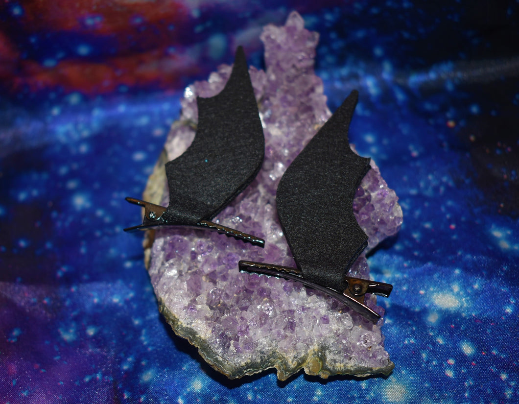 Bat Wing Hair Clips