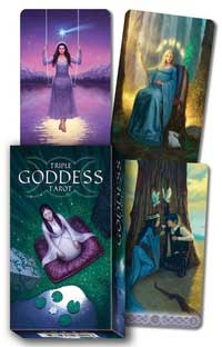 Triple Goddess Tarot Deck By Jaymi Elford & Rivolli