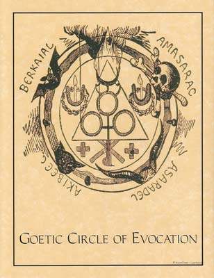Goetic Circle Evocation Poster