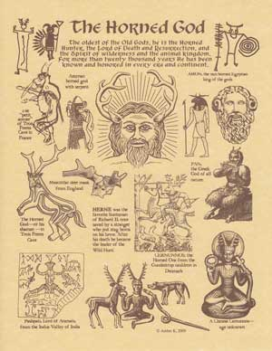 The Horned God Poster