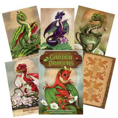 Field Guide to Garden Dragons Oracle Deck By Arwen Lynch