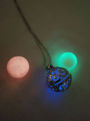 Mystical Fairy Ball Necklace (Glow in the Dark)