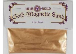 Gold Lodestone Food/Magnetic Sand