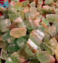 Green Calcite Raw