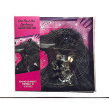 See Past This Darkness (Raven) Mini Crystal Grid Kit