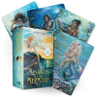 Messages from the Mermaids 44-Card Deck By Karen Kay