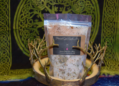 Horned God Ritual Herbal Bath Salt By Gavenia
