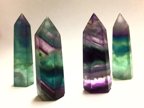 Rainbow Fluorite Towers/Generators
