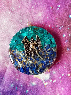 Archangel Michael Orgonite Pendant
