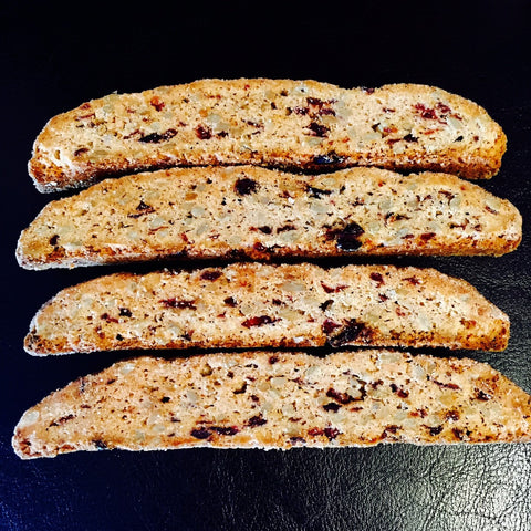 Sunflower Seed & Cranberry Biscotti 180g
