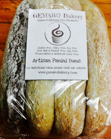 Artisan Panini Buns (bag of 4)
