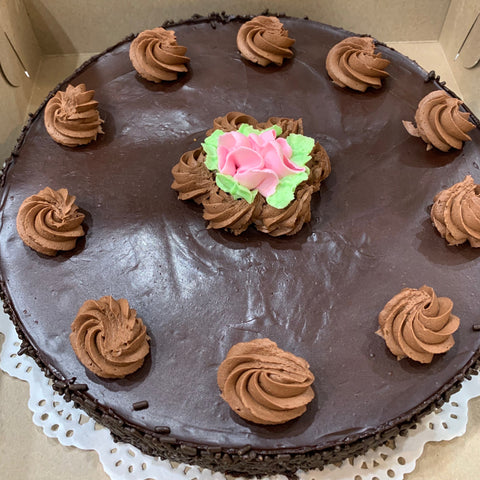 9 inch Chocolate Truffle Cake - (Pre-order 72 hours notice)