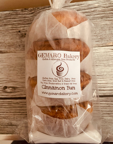 Cinnamon Bun 4/pk (Frozen) with frosting mix - Store pick up or delivery within radius