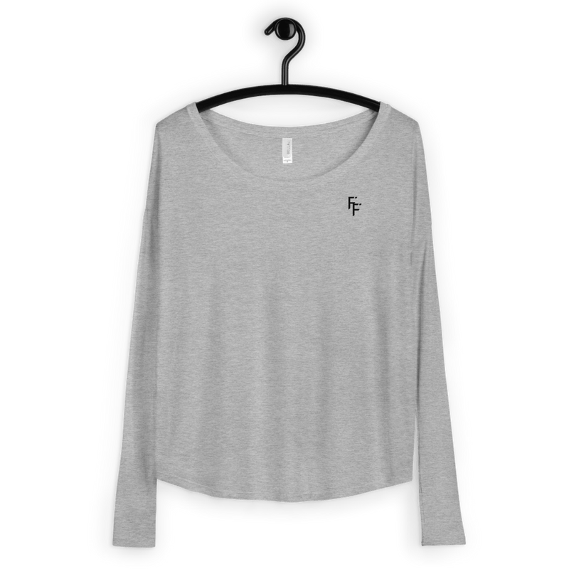 Aura Long Sleeve - Heather Grey