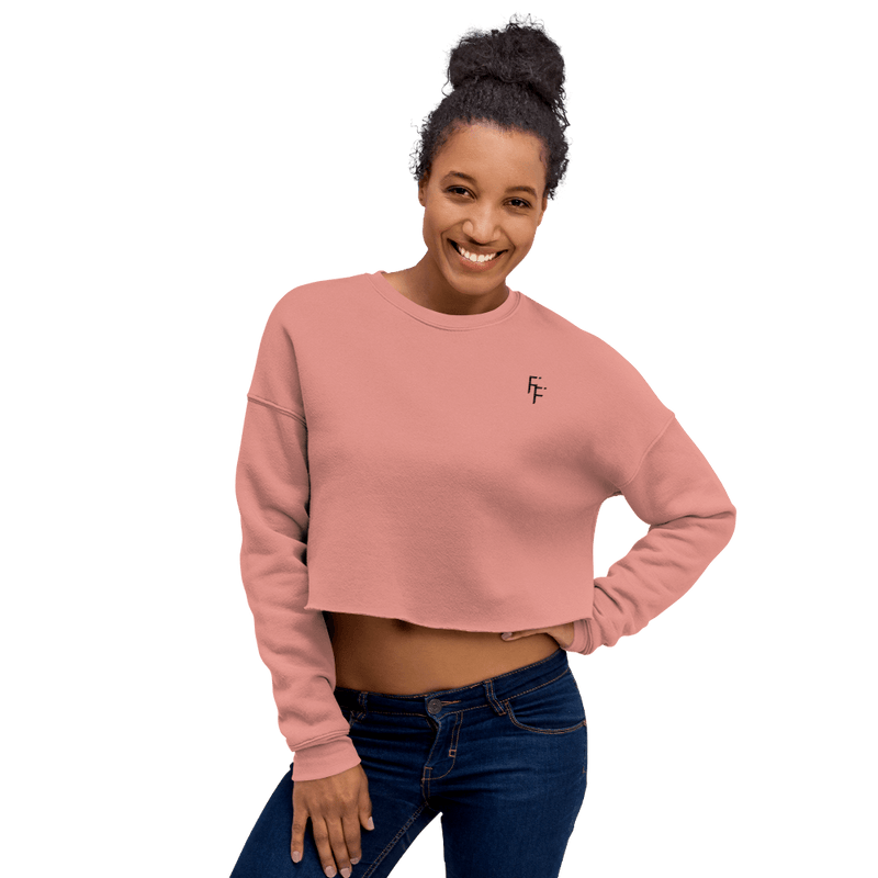 Aura Crop Sweater - Muave