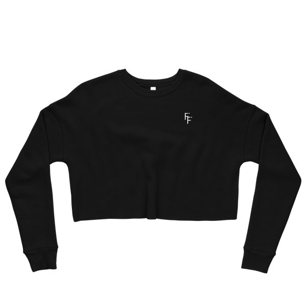 Prestige Crop Sweater - Black