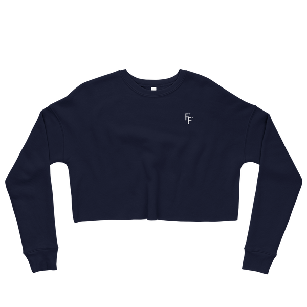 Prestige Crop Sweater - Navy