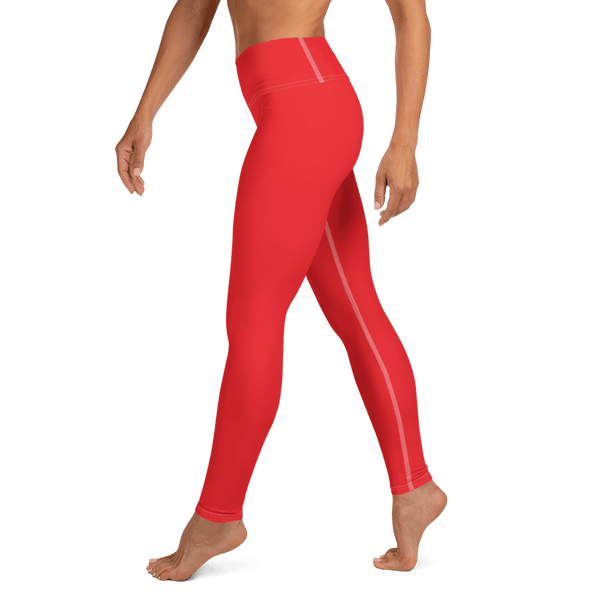 Aura Leggings - Scarlet