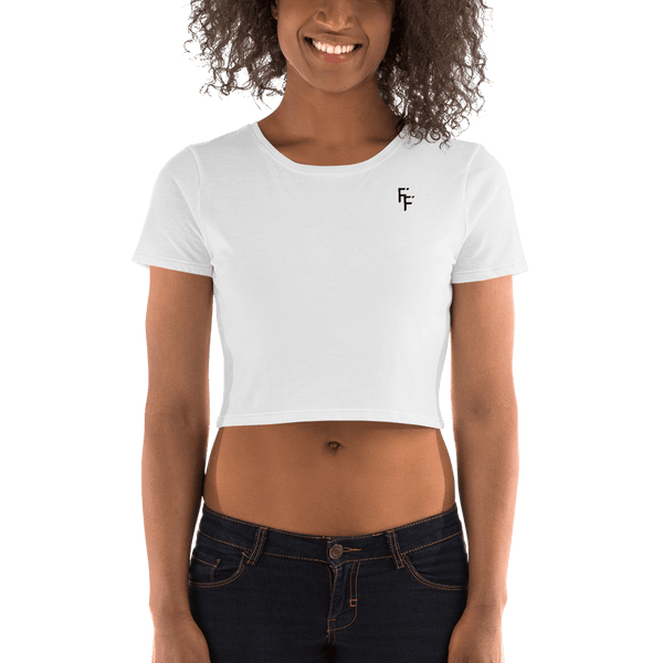 Form Crop Top - White