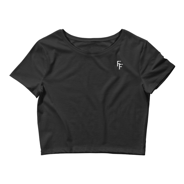 Form Crop Top - Black