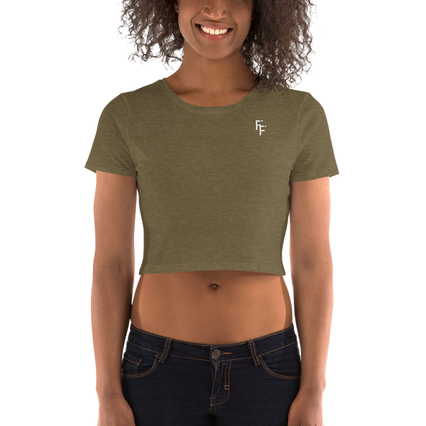 Form Crop Top - Olive