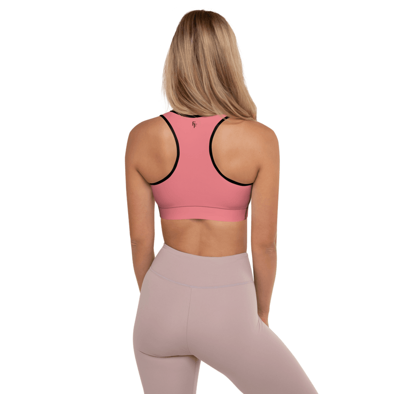 Aura Sports Bra - Rose