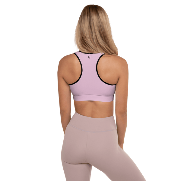 Aura Sports Bra - Flamingo