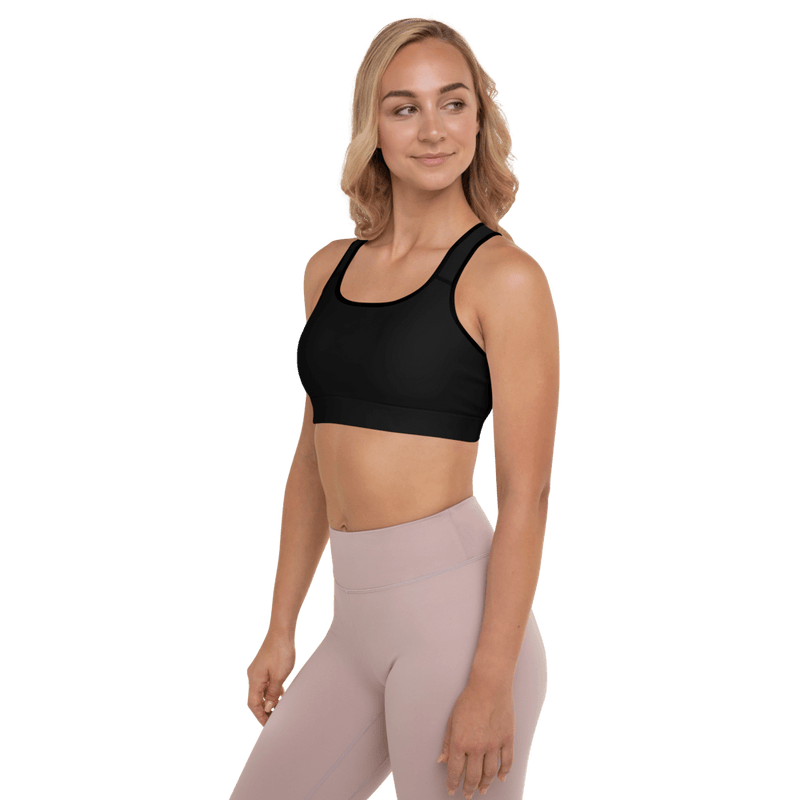 Aura Sports Bra - Black