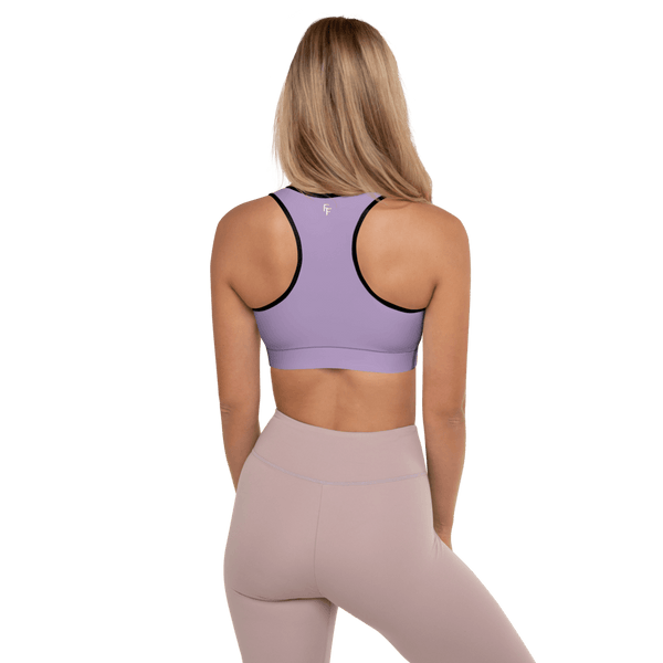 Aura Sports Bra - Muave