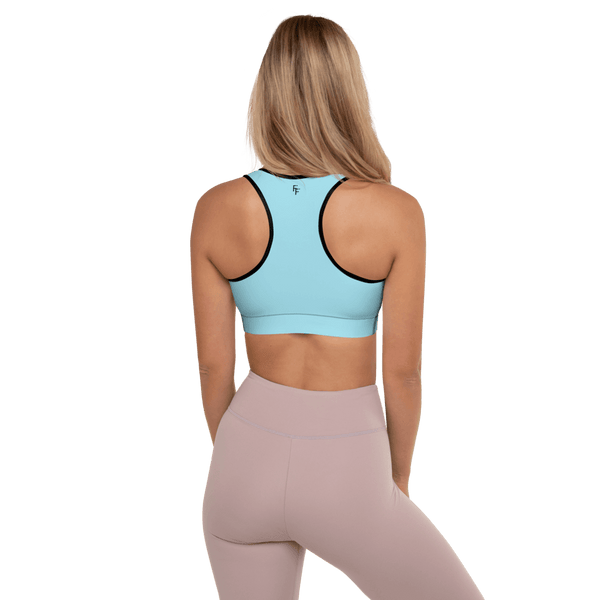 Aura Sports Bra - Tiffany Blue