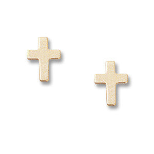 Medium Cross Studs