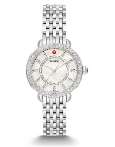 Ladies Stainless Michele Sydney Bracelet Watch - from Holsten Jewelers