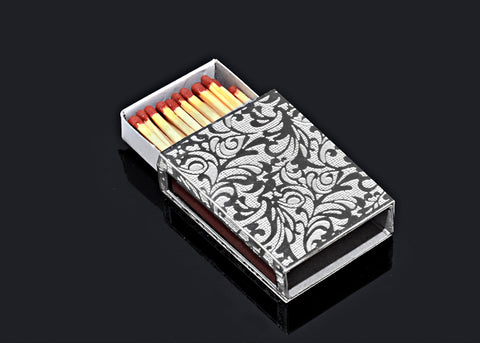 Metalace Jekard Matchbox - from Holsten Jewelers