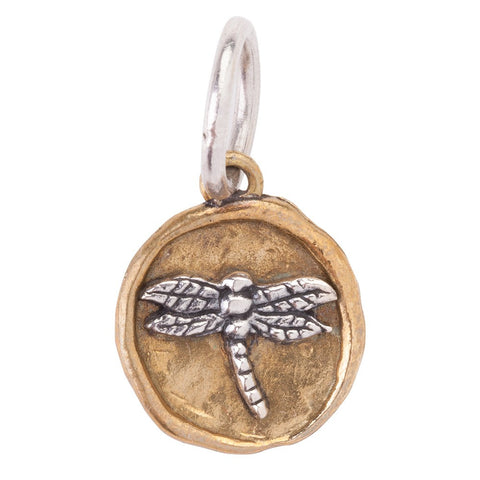 Waxing Poetic Camp Dragonfly Charm - from Holsten Jewelers