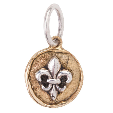 Waxing Poetic Camp Fleur de Lis Charm - from Holsten Jewelers