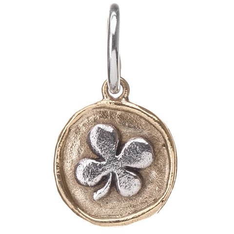 Waxing Poetic Camp Four Leaf Clover Charm - from Holsten Jewelers