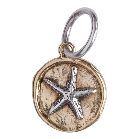 Waxing Poetic Camp Starfish Charm - from Holsten Jewelers