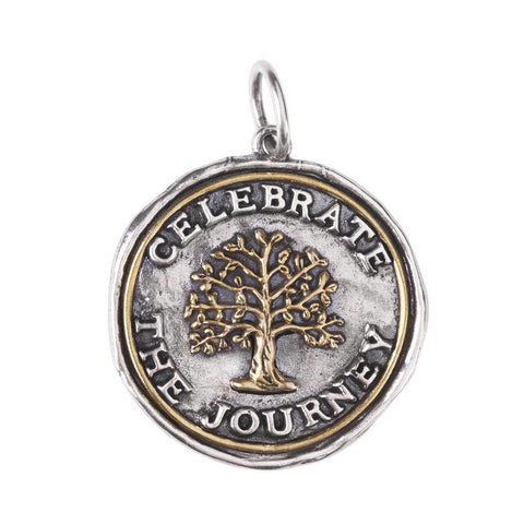 Waxing Poetic Celebrate the Journey Medallion - from Holsten Jewelers