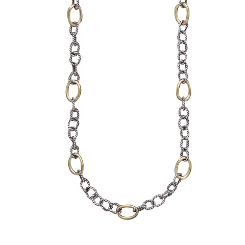 Waxing Poetic Twisted Link Chain - from Holsten Jewelers