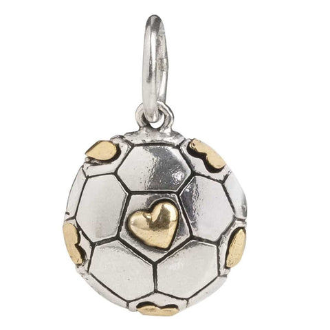 Waxing Poetic Soccer Love Charm - from Holsten Jewelers