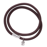 Waxing Poetic Nestel Leather Bracelet - Saddle - from Holsten Jewelers