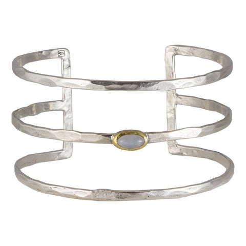 Periphery Triple Cuff - Moonstone - from Holsten Jewelers