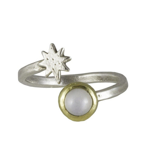 Waxing Poetic Satellite Ring - from Holsten Jewelers