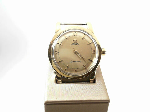 Preowned Mens Omega Gold Filled Seamaster Watch Circa 1960 - from Holsten Jewelers