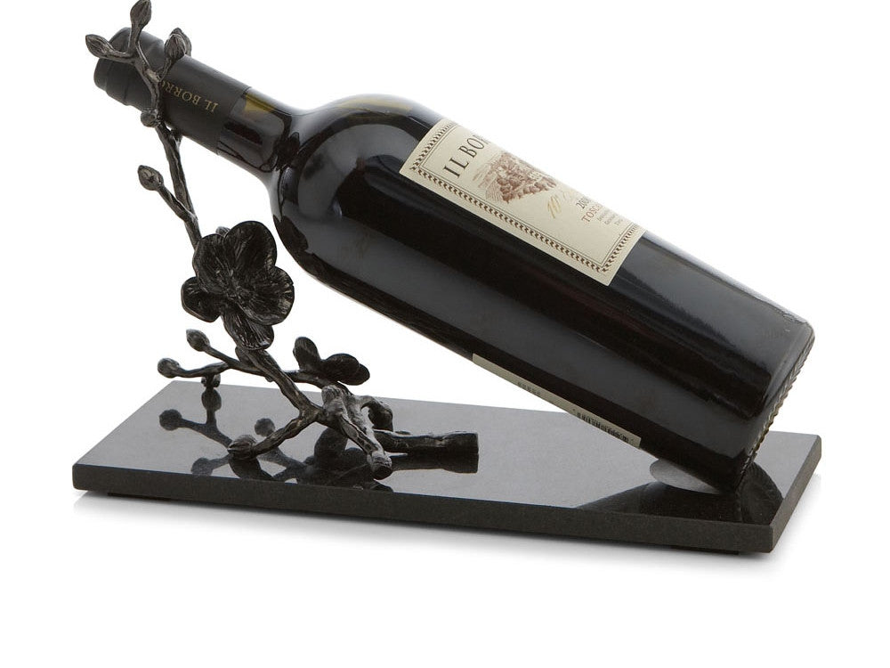 Black Orchid Wine Rest by Michael Aram - from Holsten Jewelers