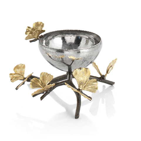 Butterfly Gingko Nut Dish - from Holsten Jewelers