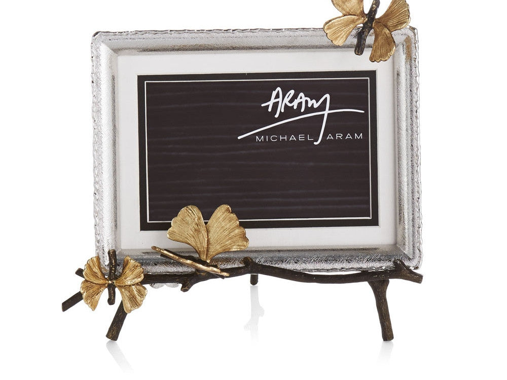 Butterfly Ginkgo Easel Frame - from Holsten Jewelers